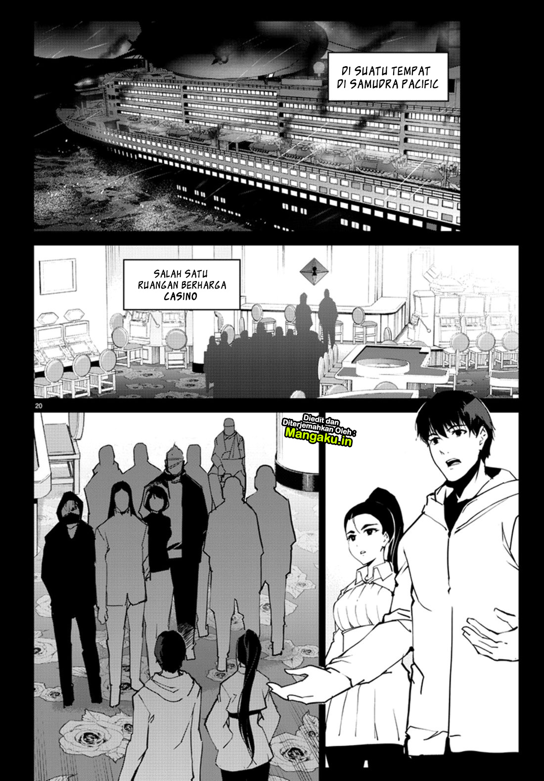 Darwin's Game Chapter 71-22