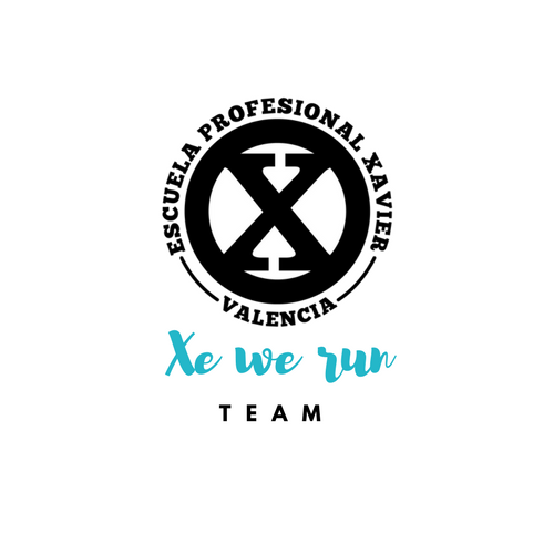 Xe we run team Escuela Profesional Xavier