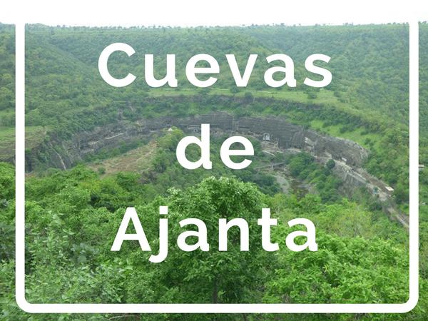 Vista desde el mirador del cañón donde se encuentran las cuevas de Ajanta