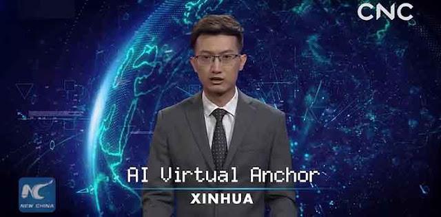 चीन का वर्चुअल न्यूज एंकर टीवी पर पढ़ेगा खबरें