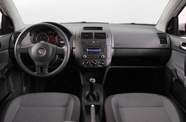 Novo Polo Hatch 2012 - interior