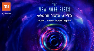 Xioami Redmi Note 6 Pro Launch India Price 13,999 Sale On Black Friday