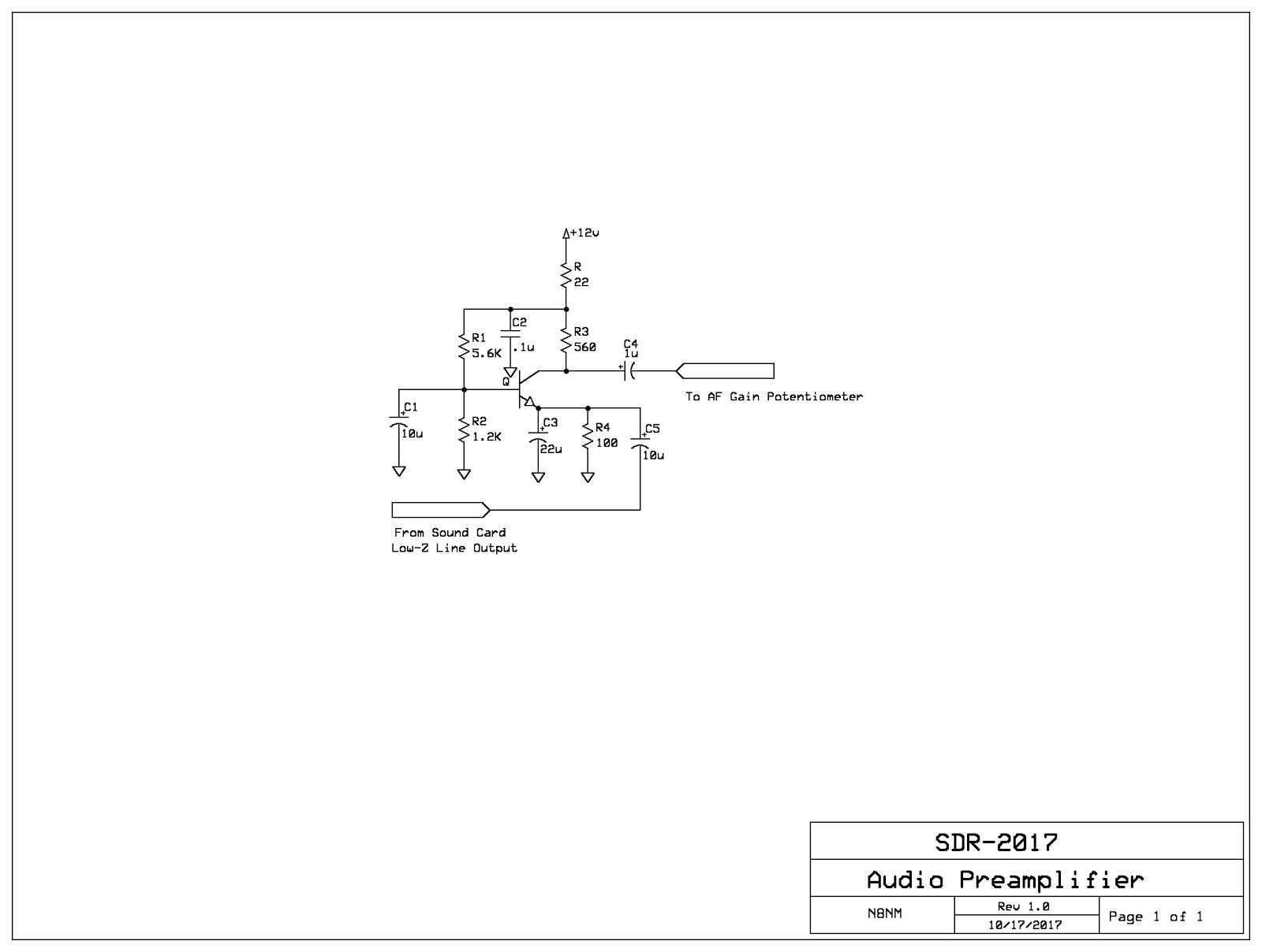 Steves Eclectic Radio Blog 2017 Simple Amplifier With C945mje340 And Tip3055 When It Comes To Designing A Common Base I Tend Approach In Much The Same Way As Would Emitter Circuit