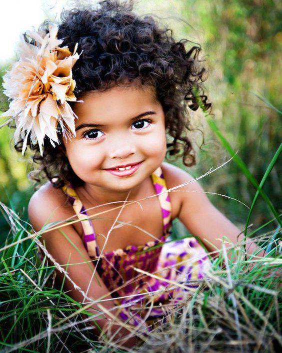 Peinados Niña Pelo Rizado - Manual para pelos rizados infantiles Saquitodecanela