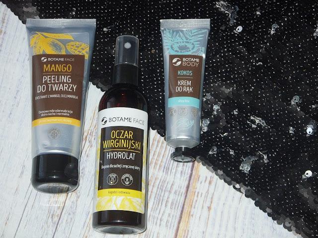 Peeling do twarzy, hydrolat i krem do rąk, czyli o kosmetykach Botame słów parę