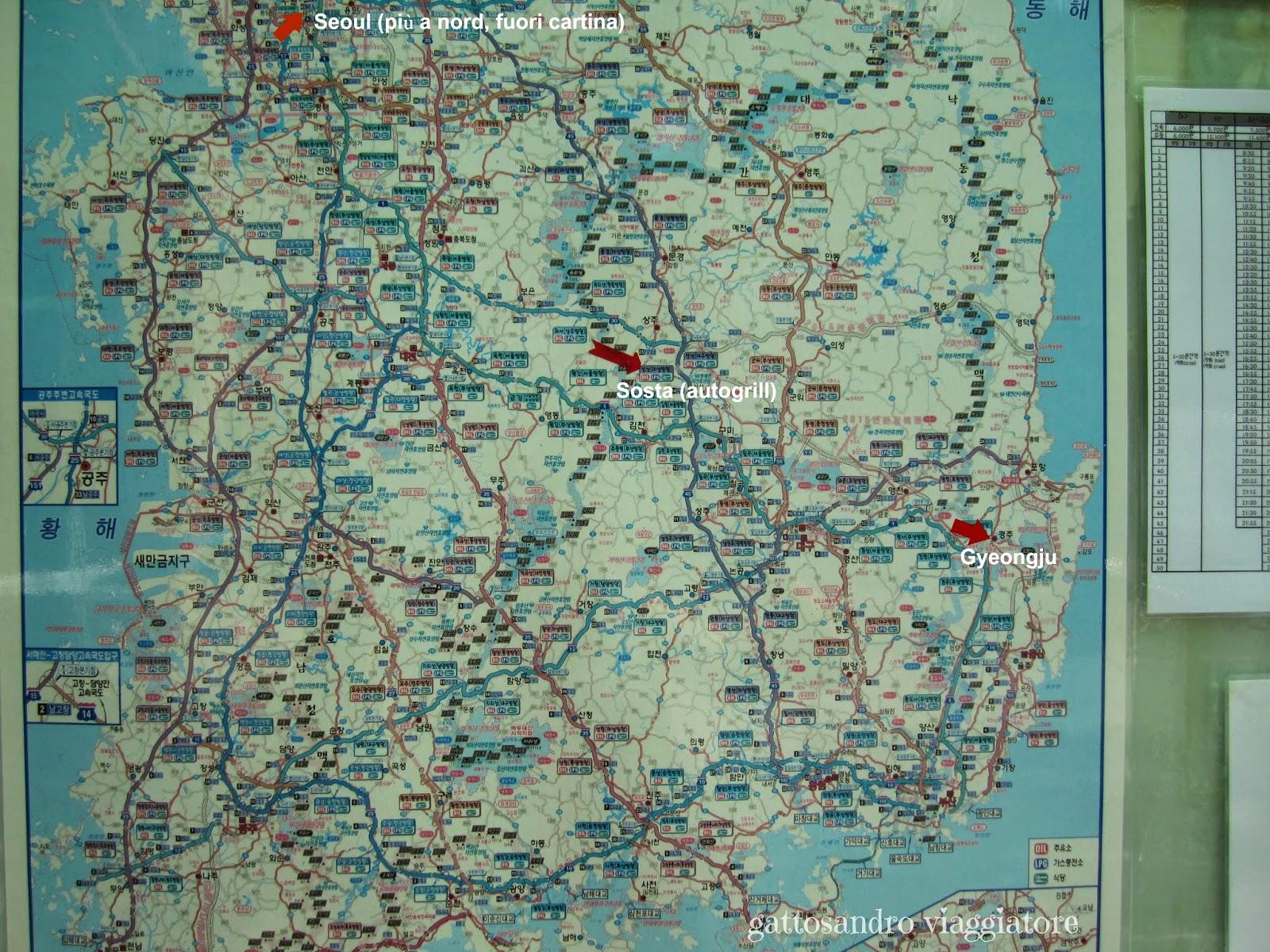 Itinerario Corea