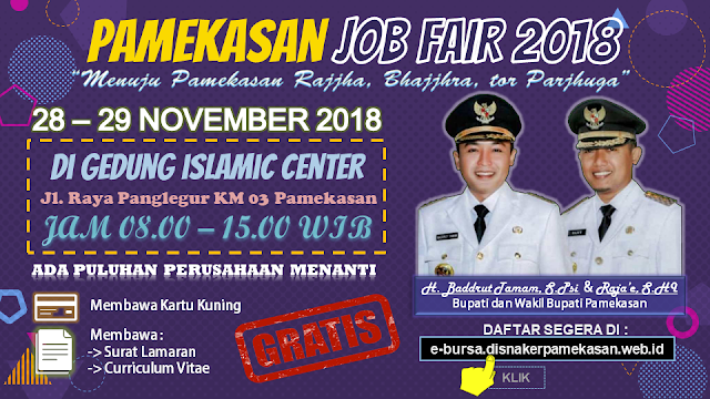 Job Fair Pamekasan GRATIS