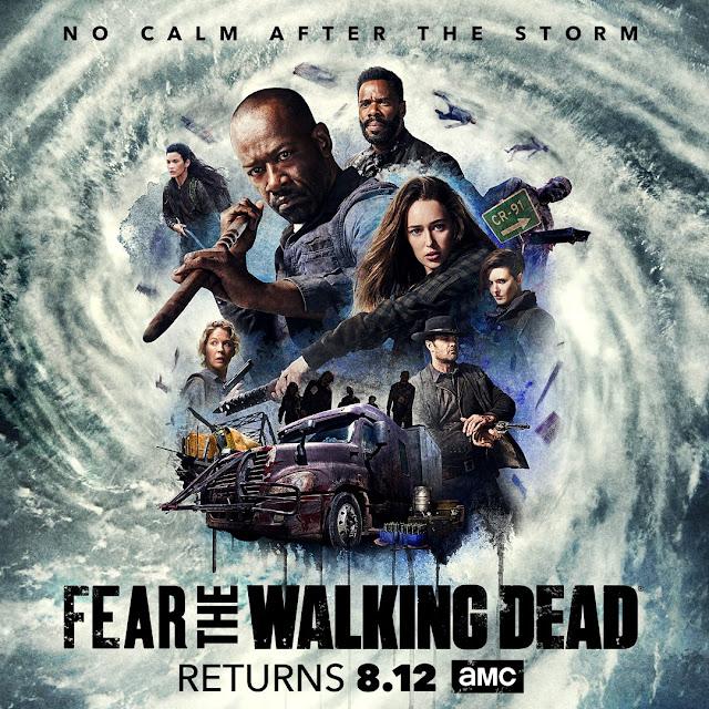 Fear the Walking Dead: midseason poster