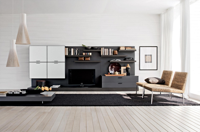 Kumpulan Desain Meja dan Rak TV Minimalis Terbaru Yang Elegan 018