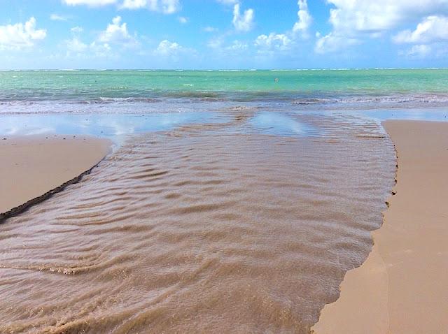 Praia de Tamandaré próxima a minha pousada