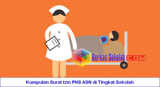 Kumpulan Surat Izin PNS ASN di Tingkat Sekolah