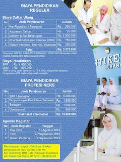 infomasi biaya pendidikan stikes surabaya