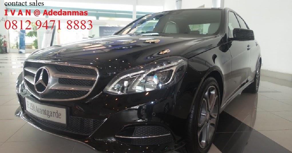New Mercedes Benz E250 Edition E 2015 Ready Stock Promo