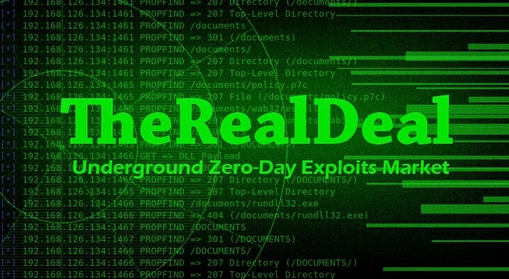 New Dark Web Marketplace Offers Zero-Day Exploits to Hackers