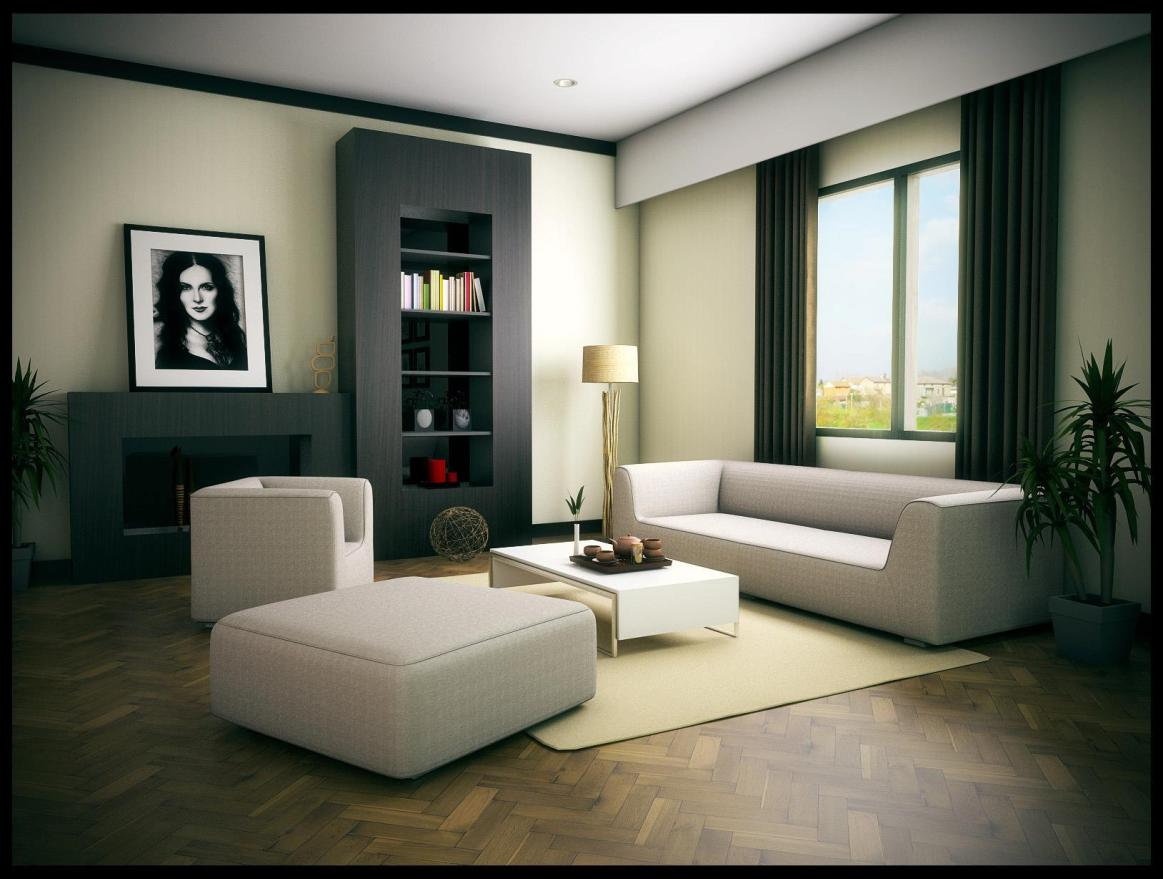 Elegant The Making Of Sketchup Living Room