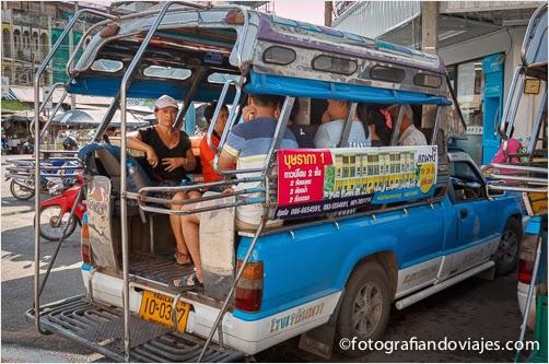 como moverse por los alrededores de Bangkok