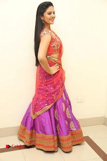 Anchor Srimukhi Pictures in Half Saree at Aatadukundam Raa Movie Audio Launch  0148
