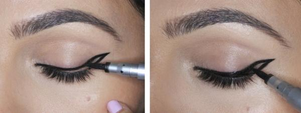 How to Do Winged Eyeliner, Winged Eyeliner