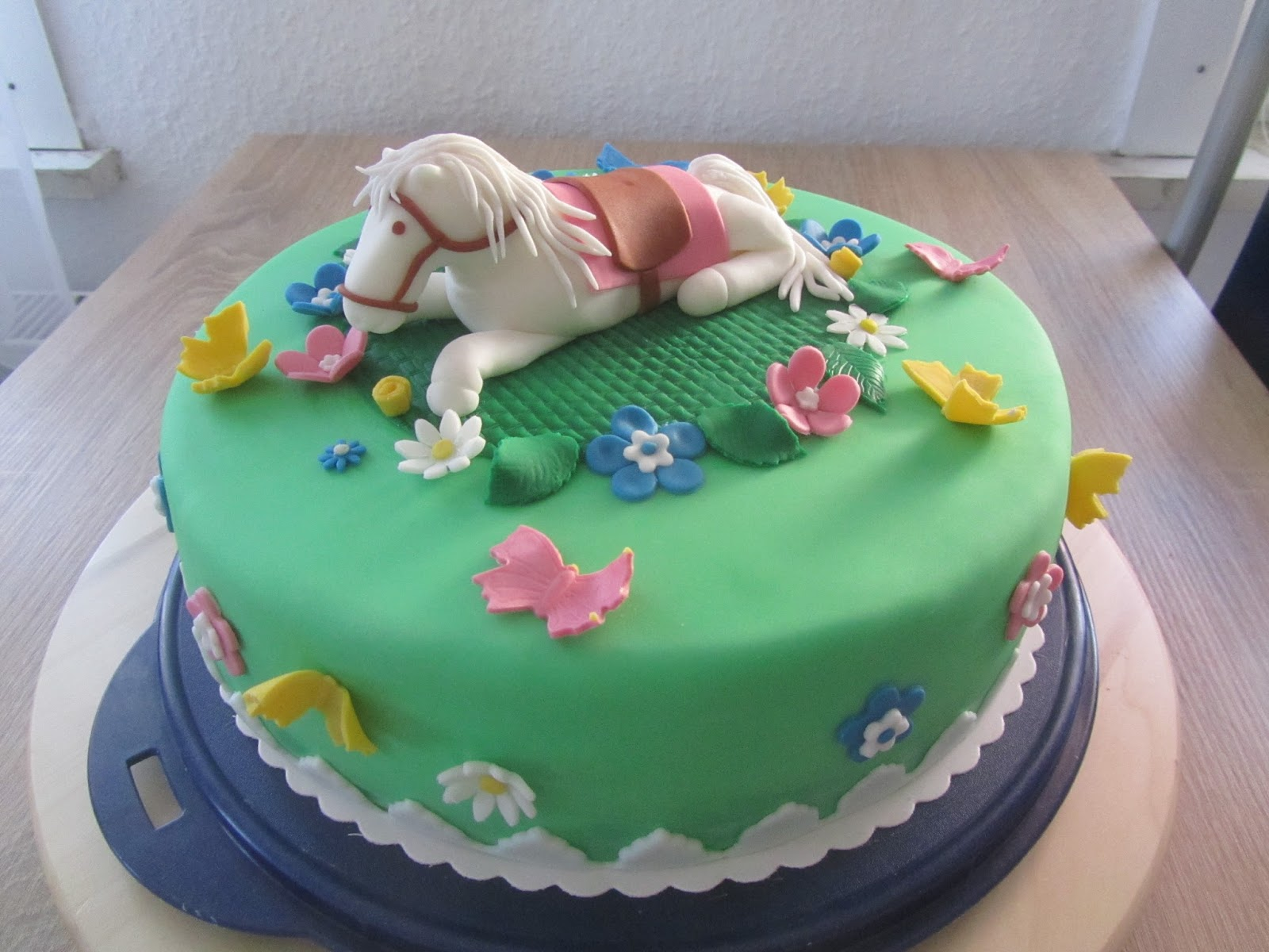Pferde Geburtstags Torte Fondant Anke S Torten Wunsch