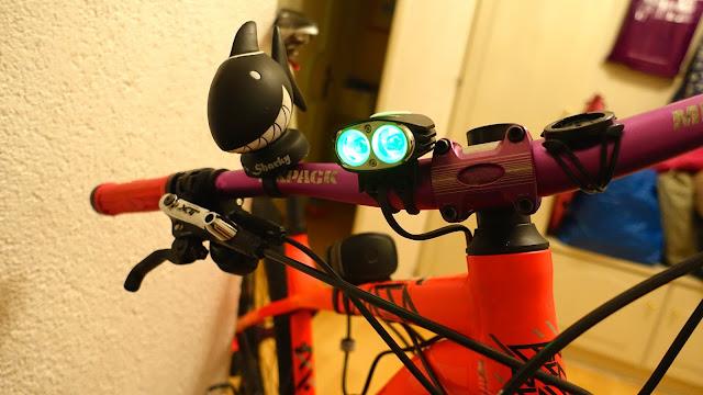 Nachtfahren mit dem Bike, die richtige Lampe