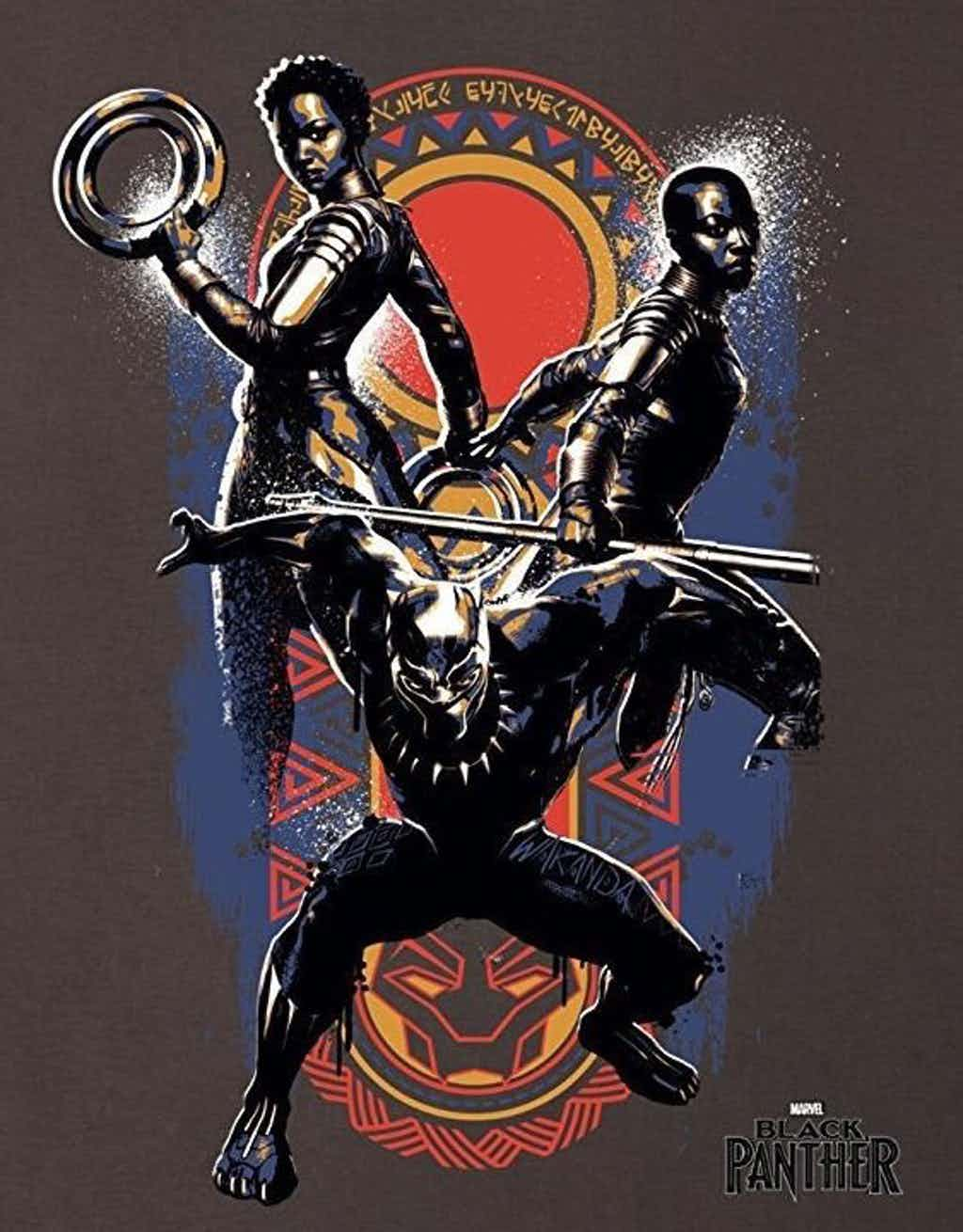 """Where to Buy """"Black Panther"""" Movie Shirts - The Geek Twins"""