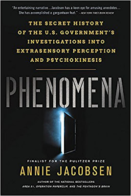 Phenomena by Annie Jacobsen (book cover)