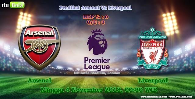 Prediksi Arsenal Vs Liverpool  - ituBola
