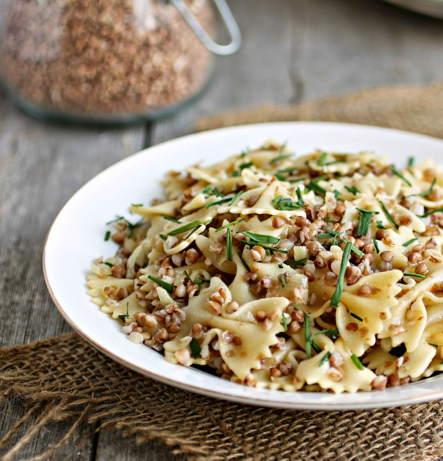Kasha Varnishkes (Faralle Pasta with Buckwheat)