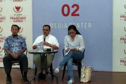 Resmi, BPN Prabowo-Sandi Dukung Pembentukan TPF Kecurangan Pemilu