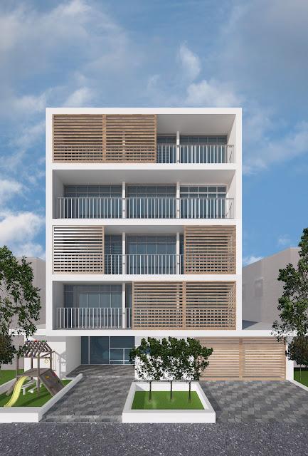 Construcción de edificios Construido en muro confinado y losa en placa fácil.
