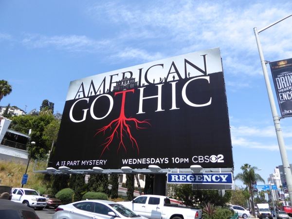 American Gothic series premiere billboard