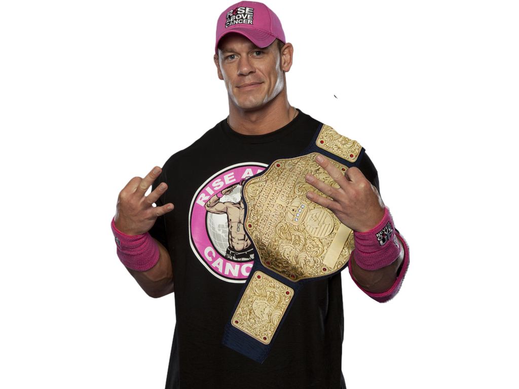 John Cena With World Heavyweight - 490.1KB