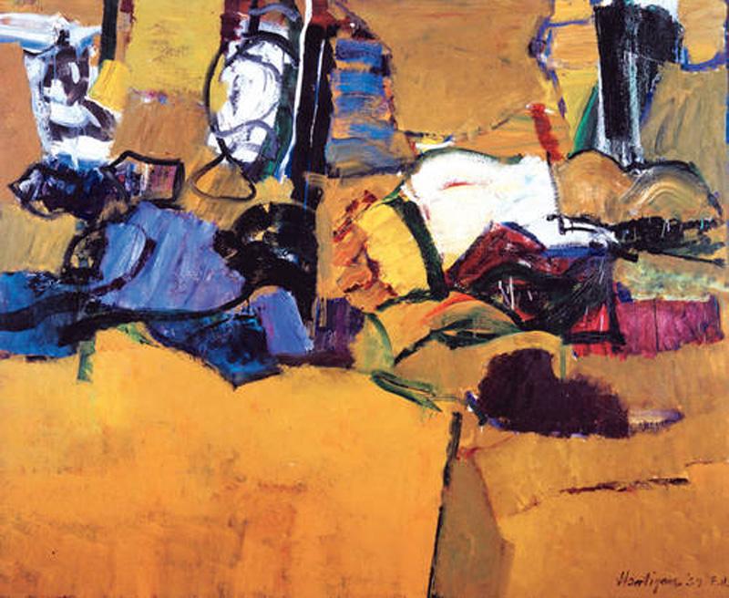 La vida no imita al arte: Grace Hartigan: Expresionismo abstracto ...