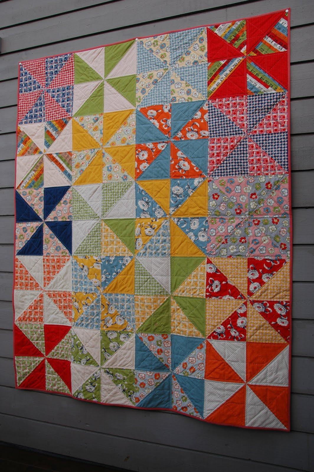 Pinwheel Quilt Directions