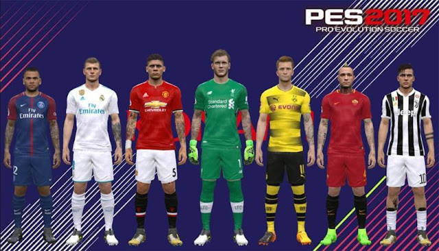 Modpack Y (Full Body) FIX 1 - PES 2017 - PATCH PES | New Patch Pro