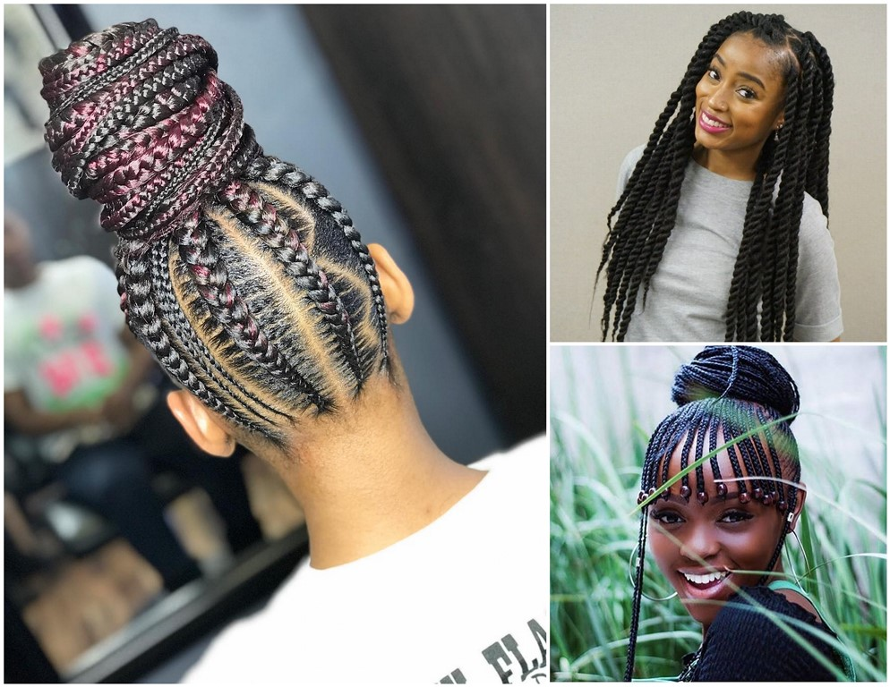 Unique Braided Hairstyles 2018 : Lovely Braids To Glow