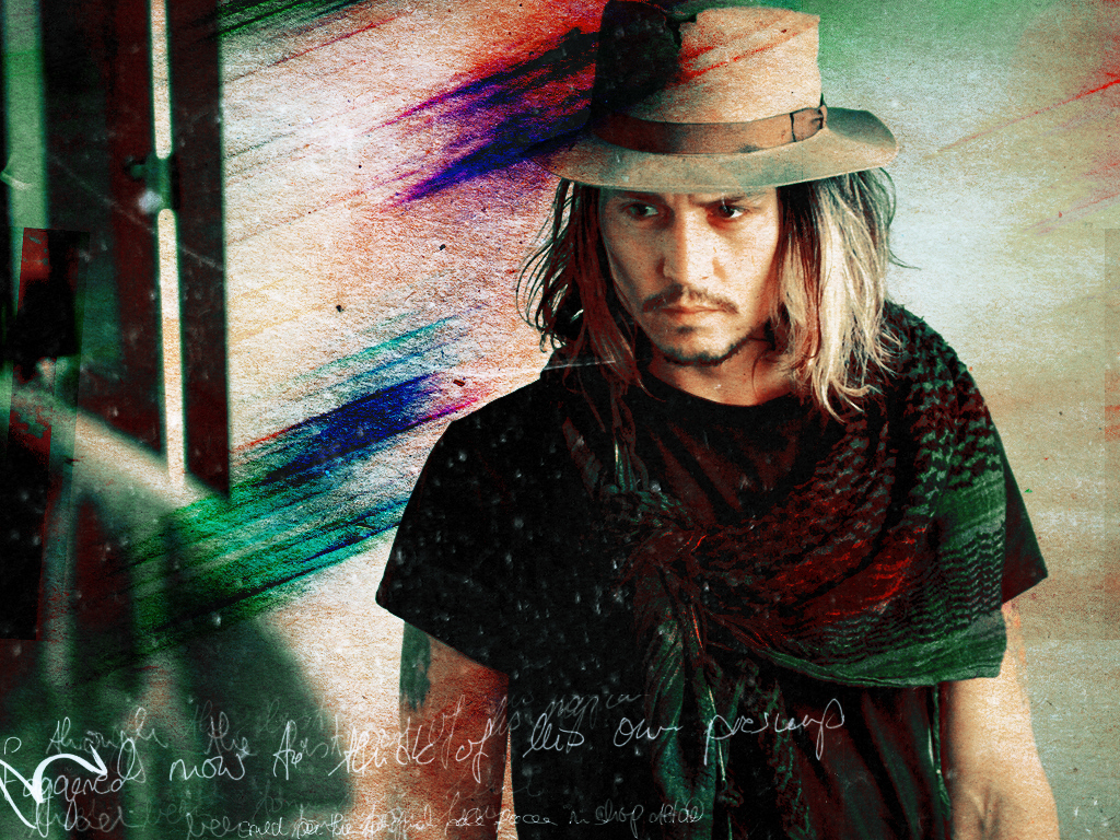 Latest Hollywood Hottest Wallpapers: Johnny Depp Desktop