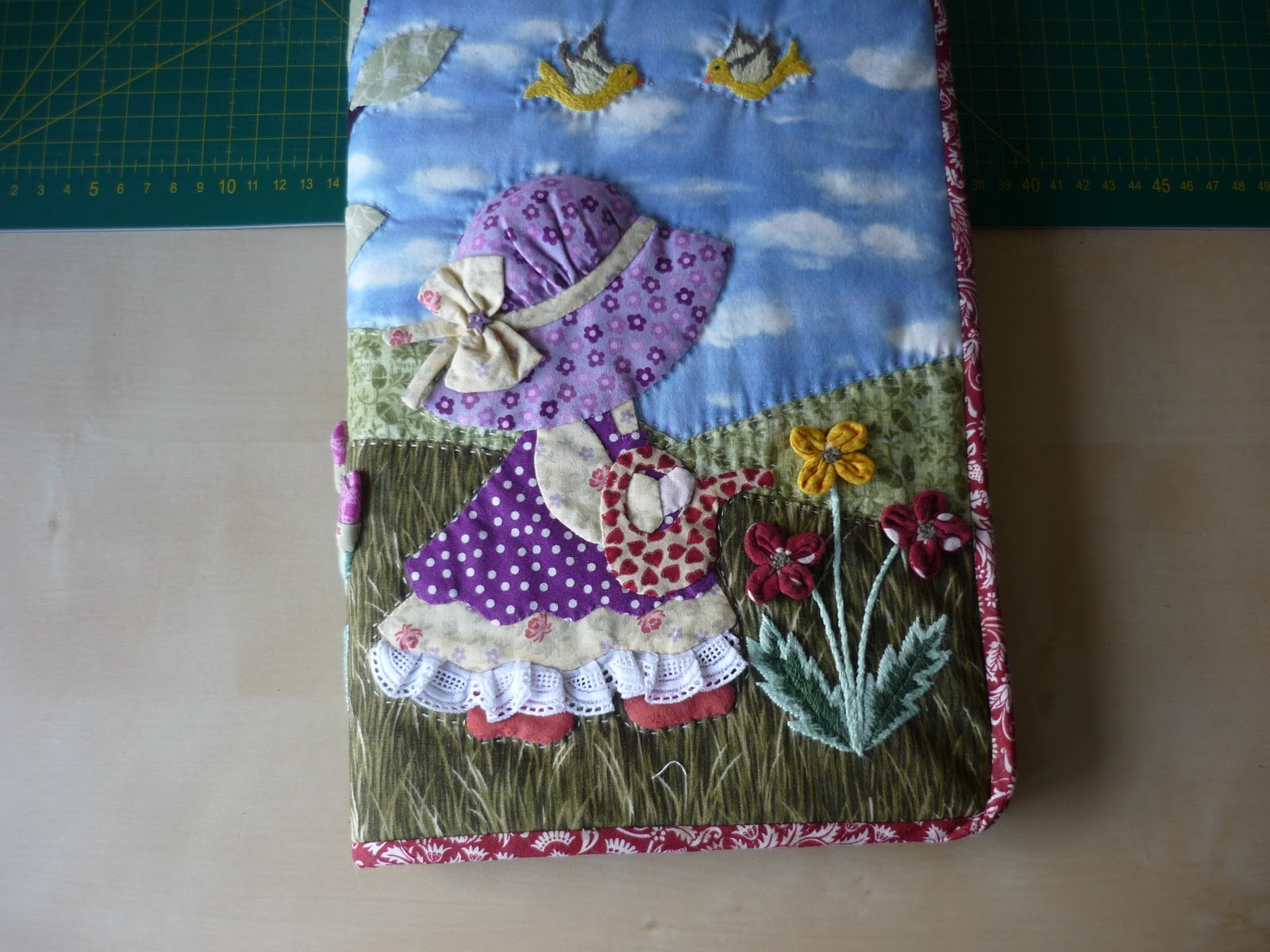 Coser y coser patchwork agenda sunbonnet sue for Como hacer patchwork