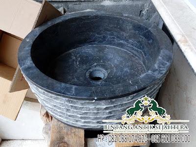Wastafel Batu Alam Murah, Wastafel Marmer, Model Wastafel Marmer