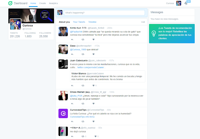 Twitter-dashboard-timeline