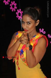 Telugu Actress Model Sri Reddy Latest Stills in Yellow Dress  0033.JPG