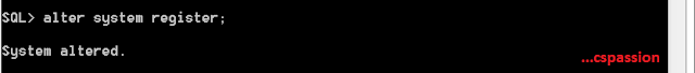 Alter System Register