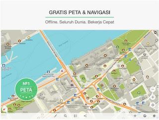 Aplikasi navigasi gps terbaik android