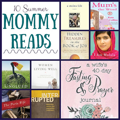 10 books that are perfect for Mommy to read this summer from Mommy & Her Men!