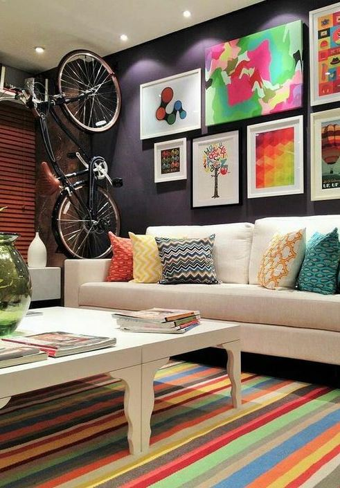tiny living room decoration idea