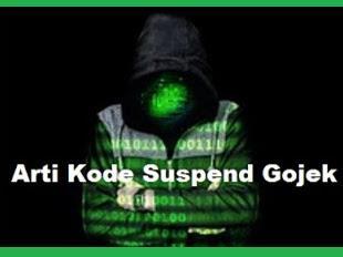 Daftar Kode Auto Suspend Gojek dan Artinya
