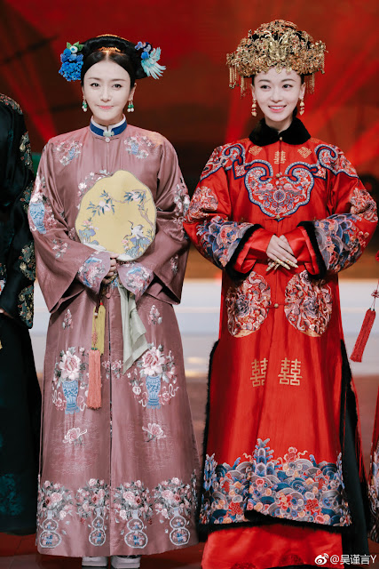 Qin Lan Wu Jinyan Happy Camp guesting Story of Yanxi Palace