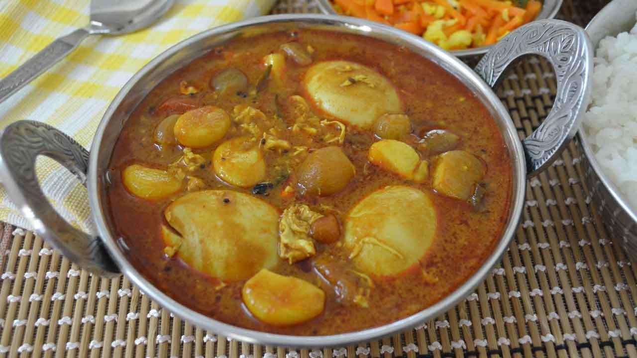 செட்டிநாடு முட்டைக் குழம்பு|chettinad muttai kulambu recipe in tamil Cooking Tips