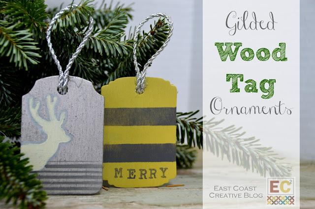wood tag ornaments
