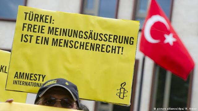Amnistía acusa a Turquía de crear 'clima de miedo'